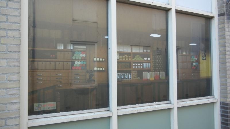 Foto raam 2 geplaatste raamafbeelding leegstaand vastgoed