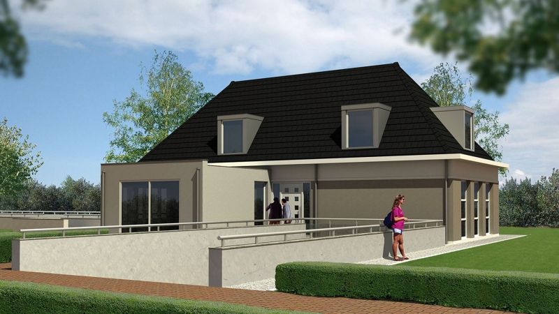 Villa land van esscheweg strijen - Kubieke villa ...
