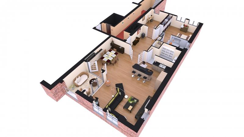 3D plattegrond appartement Oostsingel_goes.jpg
