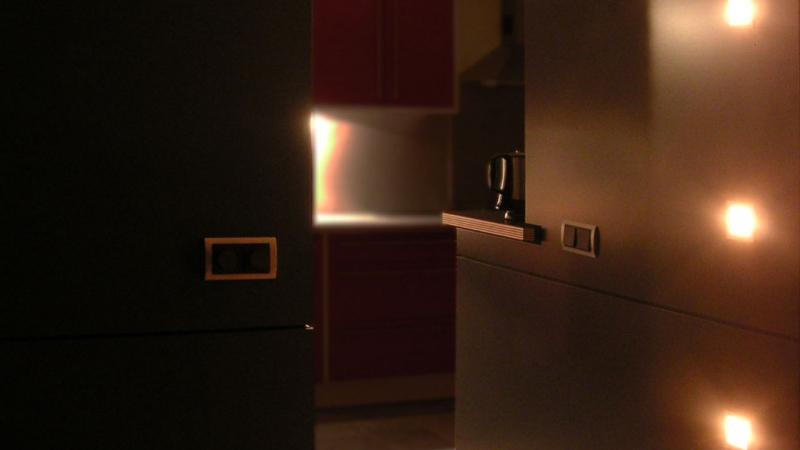 Sfeer verlichting woonkamer en keuken