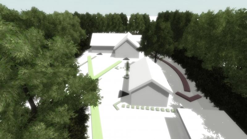 Screenshot interactieve 3D presentatie massastudie variant B