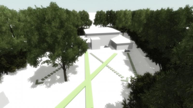 Screenshot interactieve 3D presentatie massastudie variant C