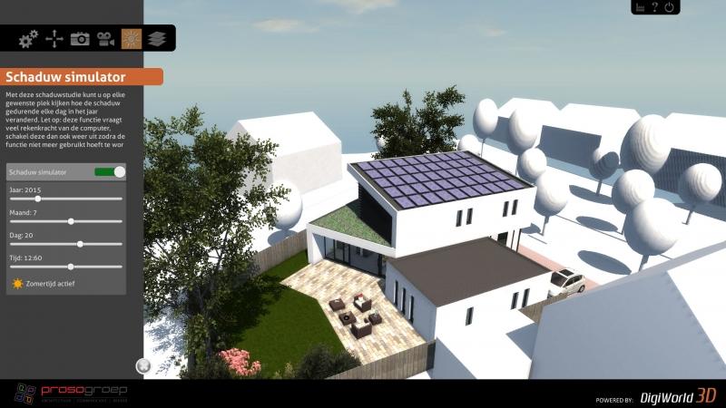 Screenshot interactieve 3D presentatie