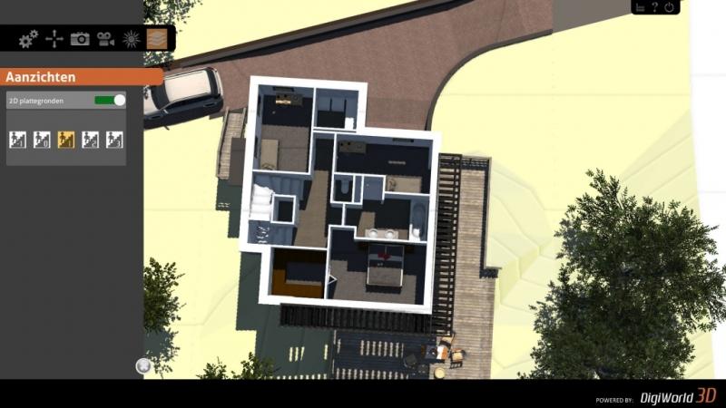 Screenshot interactief 3D model