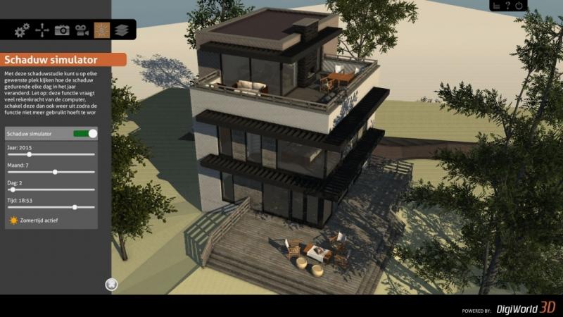 Het interactieve 3D model geeft de opdrachtgever een helder beeld van het eindresultaat